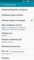 ¿Tu equipo puede copiar contactos a la SIM card? - Samsung Galaxy A3 - A300M - Passo 13