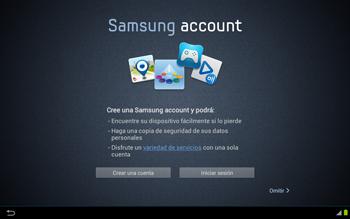Activa el equipo - Samsung Galaxy Note 10-1 - N8000 - Passo 6