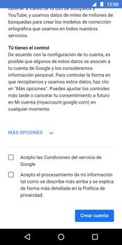 Crea una cuenta - Motorola Moto G6 Play - Passo 13