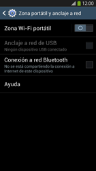 Configura el hotspot móvil - Samsung Galaxy S4  GT - I9500 - Passo 6