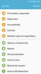 Restaura la configuración de fábrica - Samsung Galaxy S7 - G930 - Passo 4