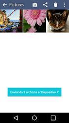 Transferir fotos vía Bluetooth - LG K4 - Passo 12