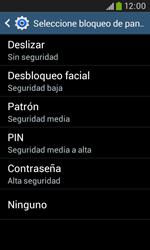 Desbloqueo del equipo por medio del patrón - Samsung Galaxy Trend Plus S7580 - Passo 7