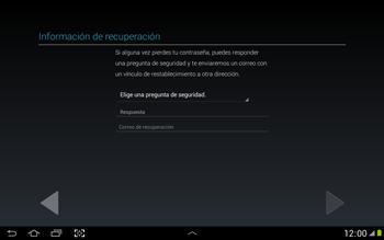 Crea una cuenta - Samsung Galaxy Note 10-1 - N8000 - Passo 13