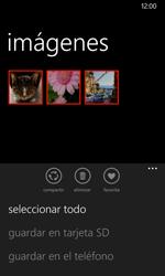 Transferir fotos vía Bluetooth - Nokia Lumia 635 - Passo 8
