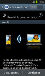 Configura el hotspot móvil - Samsung Galaxy Win - I8550 - Passo 10