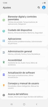 Restaura la configuración de fábrica - Samsung Galaxy A51 - Passo 4