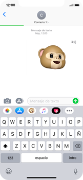 Enviar Animoji - Apple iPhone XS - Passo 15