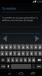 Crea una cuenta - Motorola Moto E (1st Gen) (Kitkat) - Passo 5
