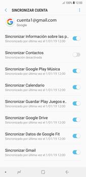 Desactivar la sincronización automática - Samsung A7 2018 - Passo 9