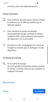 Crea una cuenta - Samsung S10+ - Passo 13