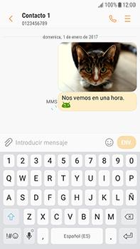 Envía fotos, videos y audio por mensaje de texto - Samsung Galaxy J7 Prime - Passo 15