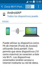 Configura el hotspot móvil - Samsung Galaxy Core Prime - G360 - Passo 6