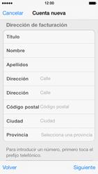 Crea una cuenta - Apple iPhone 5s - Passo 20