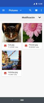 Envía fotos, videos y audio por mensaje de texto - Motorola One Vision (Single SIM) - Passo 16
