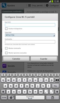 Configura el hotspot móvil - Samsung Galaxy Tab 3 7.0 - Passo 8