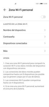 Configura el hotspot móvil - Huawei P40 - Passo 5