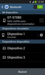Conecta con otro dispositivo Bluetooth - Samsung Galaxy Trend Plus S7580 - Passo 8
