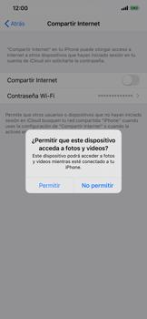 Comparte la conexión de datos con una PC - Apple iPhone 11 - Passo 5