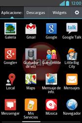 Uso de la navegación GPS - LG L4 II - Passo 3