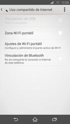 Configura el hotspot móvil - Sony Xperia Z3 D6603 - Passo 12