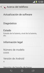 Actualiza el software del equipo - Sony Xperia E1 D2005 - Passo 6