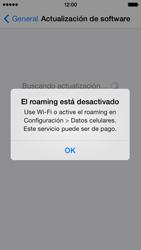 Actualiza el software del equipo - Apple iPhone 5c - Passo 6