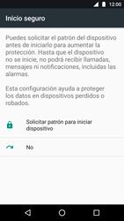 Desbloqueo del equipo por medio del patrón - Motorola Moto G5 - Passo 7