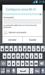 Configura el hotspot móvil - LG Optimus L7 - Passo 8