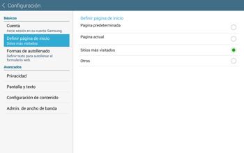 Configura el Internet - Samsung Galaxy Note Pro - Passo 21