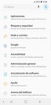 Realiza una copia de seguridad con tu cuenta - Samsung Galaxy S9 - Passo 4