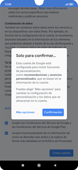 Crea una cuenta - Xiaomi Redmi Note 7 - Passo 15