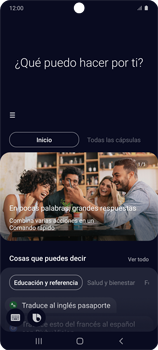 Cómo habilitar el asistente Bixby - Samsung Galaxy S10 Lite - Passo 14