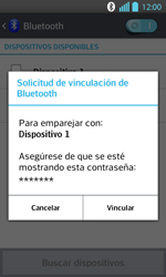 Conecta con otro dispositivo Bluetooth - LG Optimus L 7 II - Passo 8
