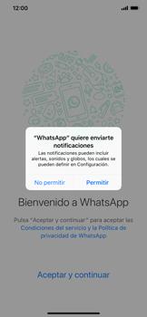 Configuración de Whatsapp - Apple iPhone XS Max - Passo 5