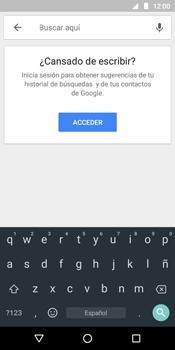 Uso de la navegación GPS - Motorola Moto G6 Play - Passo 6