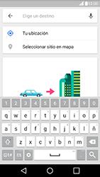 Uso de la navegación GPS - LG K10 - Passo 14