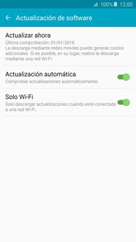 Actualiza el software del equipo - Samsung Galaxy Note 5 - N920 - Passo 7