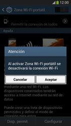 Configura el hotspot móvil - Samsung Galaxy Zoom S4 - C105 - Passo 11