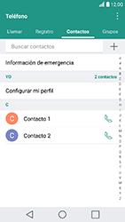 ¿Tu equipo puede copiar contactos a la SIM card? - LG K10 2017 - Passo 5