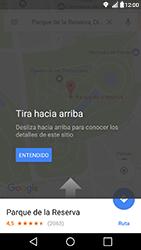 Uso de la navegación GPS - LG X Power - Passo 9