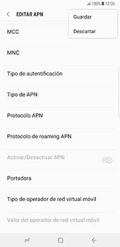 Configura el Internet - Samsung Galaxy Note 8 - Passo 16