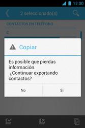 ¿Tu equipo puede copiar contactos a la SIM card? - Motorola RAZR D1 XT914 - Passo 10