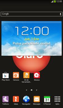 Restaura la configuración de fábrica - Samsung Galaxy Tab 3 7.0 - Passo 1