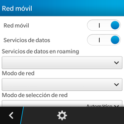 Configura el Internet - BlackBerry Q5 - Passo 6