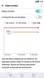 Desactivación límite de datos móviles - LG X Cam - Passo 5