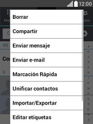 ¿Tu equipo puede copiar contactos a la SIM card? - LG L20 - Passo 5