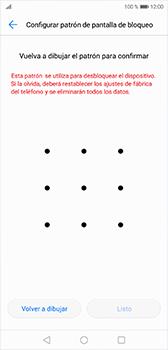 Desbloqueo del equipo por medio del patrón - Huawei P20 - Passo 8