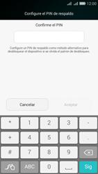 Desbloqueo del equipo por medio del patrón - Huawei G Play Mini - Passo 12