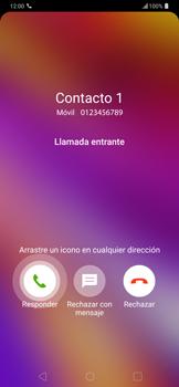 Contesta, rechaza o silencia una llamada - LG G7 ThinQ - Passo 4